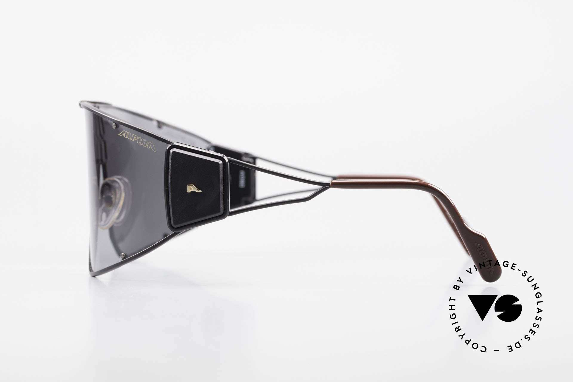 Alpina Goldwing Rare 80's Celebrity Sunglasses, almost impossible to get, today (a real museum piece), Made for Men and Women