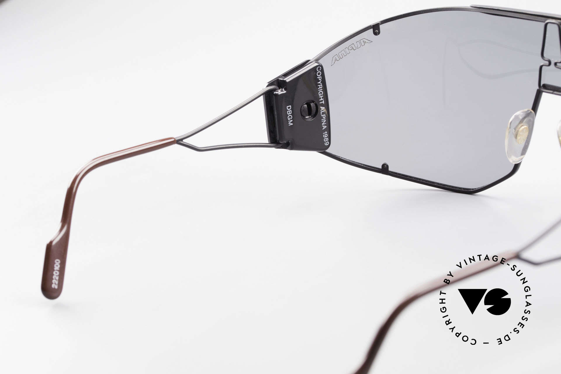 Alpina Goldwing Rare 80's Celebrity Sunglasses, very special & perfect fit; more 'vintage' isn't possible!, Made for Men and Women