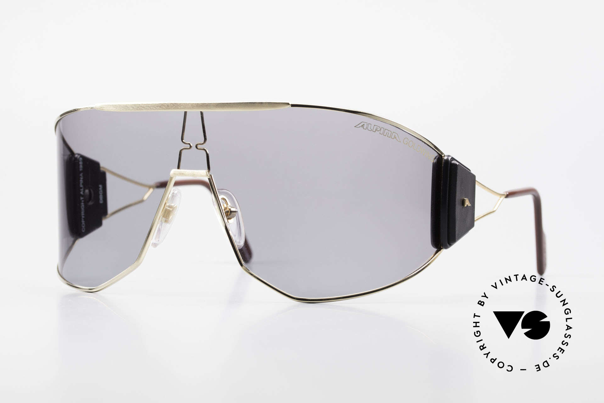 Alpina Goldwing Rare Celebrity Sunglasses 80's, Goldwing: the most wanted Alpina model, worldwide!, Made for Men and Women