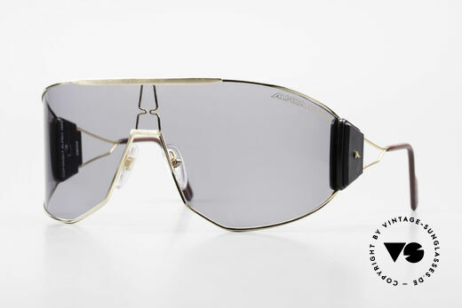 Alpina Goldwing Rare Celebrity Sunglasses 80's Details