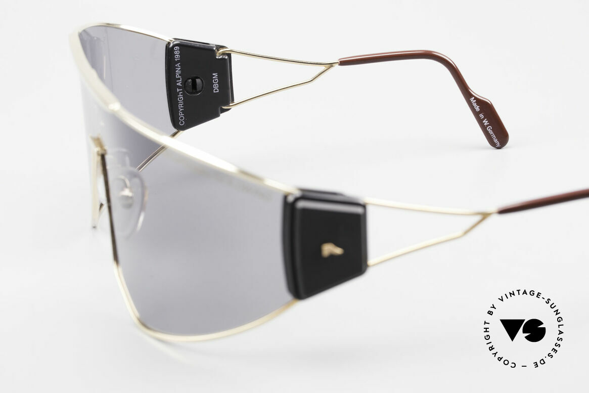 Alpina Goldwing Rare Celebrity Sunglasses 80's, Size: large, Made for Men and Women