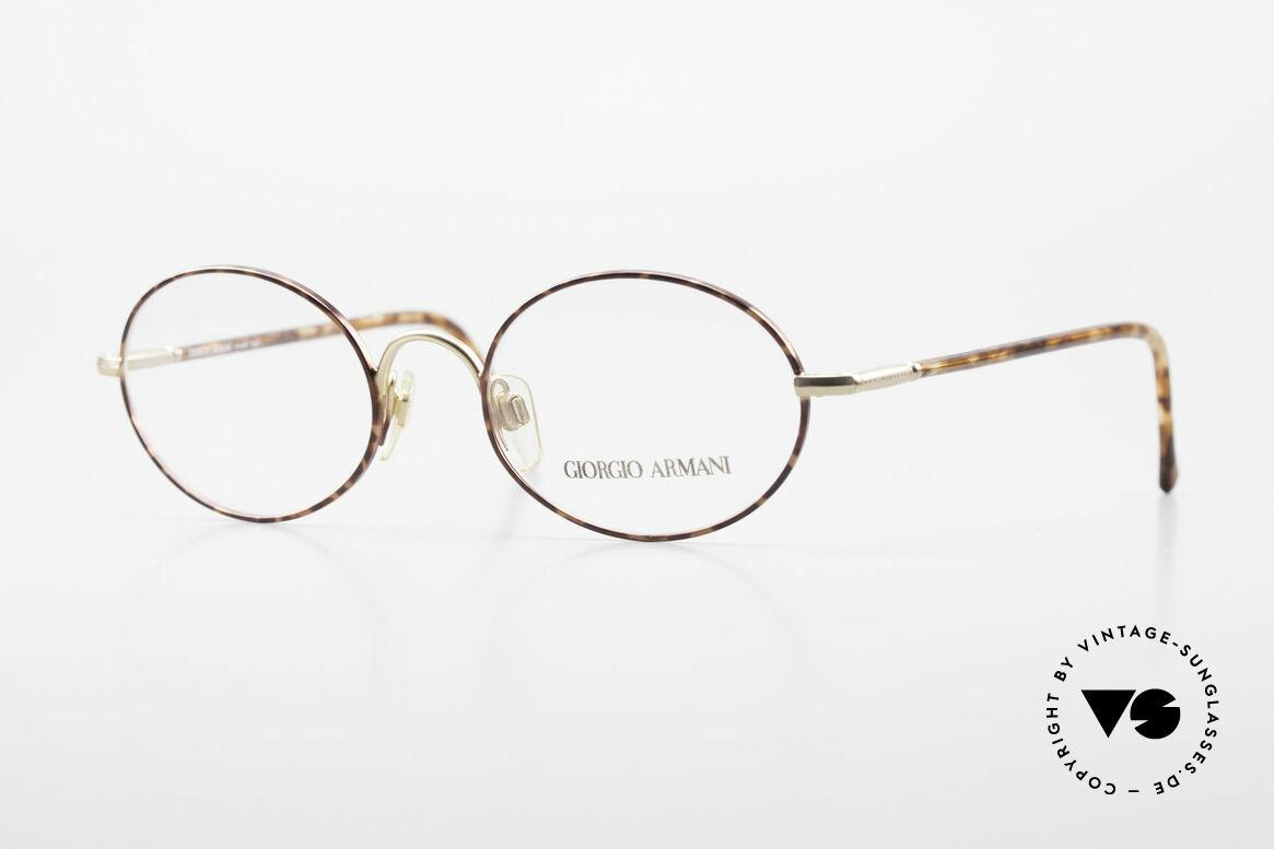Giorgio Armani 189 Classic Oval Designer Frame, timeless Giorgio Armani designer eyeglasses; 50/19, Made for Men