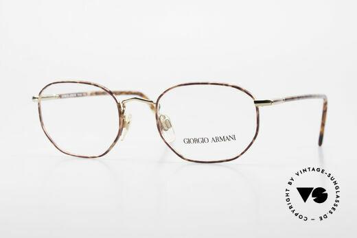 Giorgio Armani 187 Classic 90's Men's Eyeglasses Details