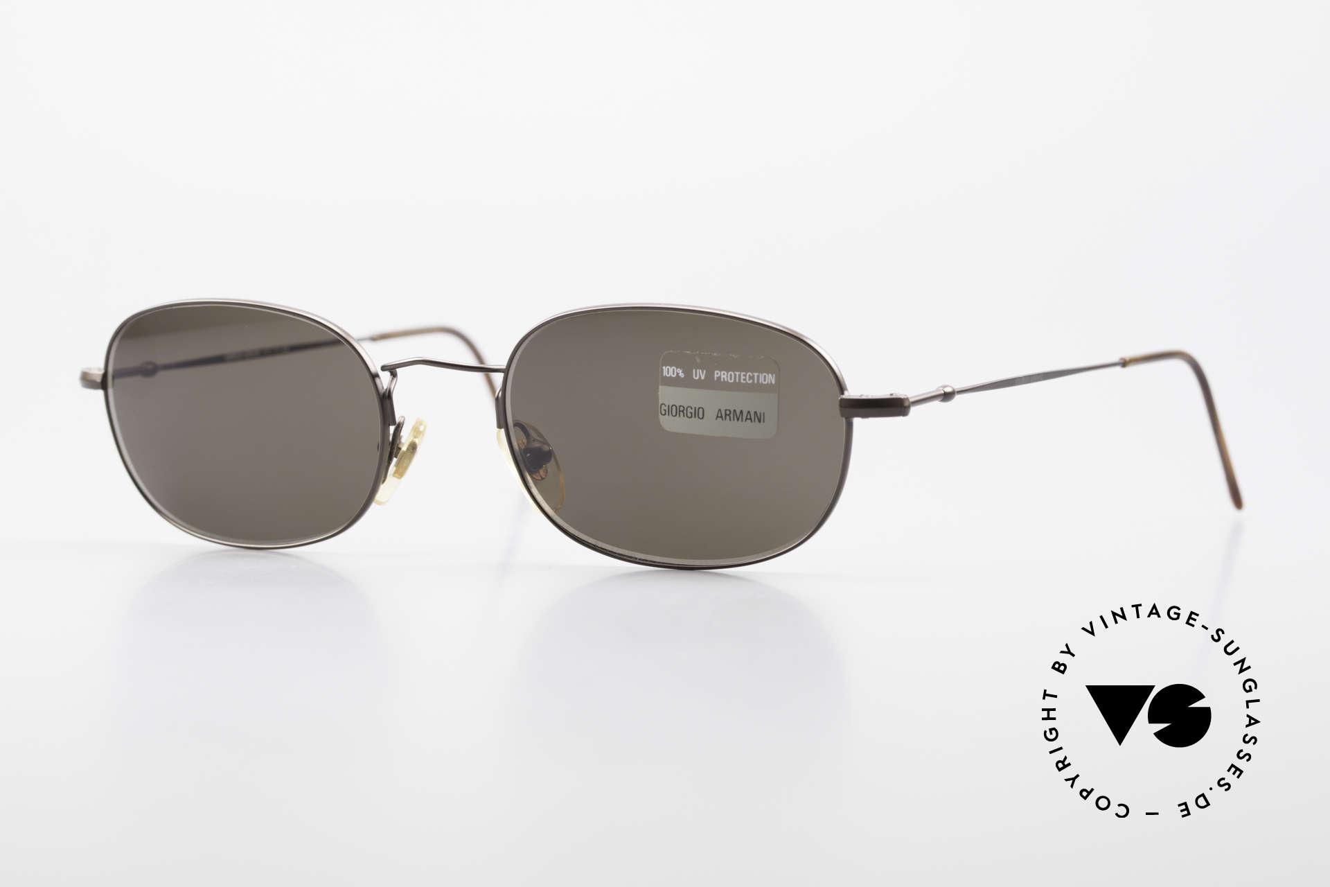 Giorgio Armani 234 Classic Designer Shades 80's, vintage designer sunglasses by GIORGIO ARMANI, Made for Men and Women