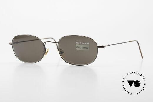 Giorgio Armani 234 Classic Designer Shades 80's Details