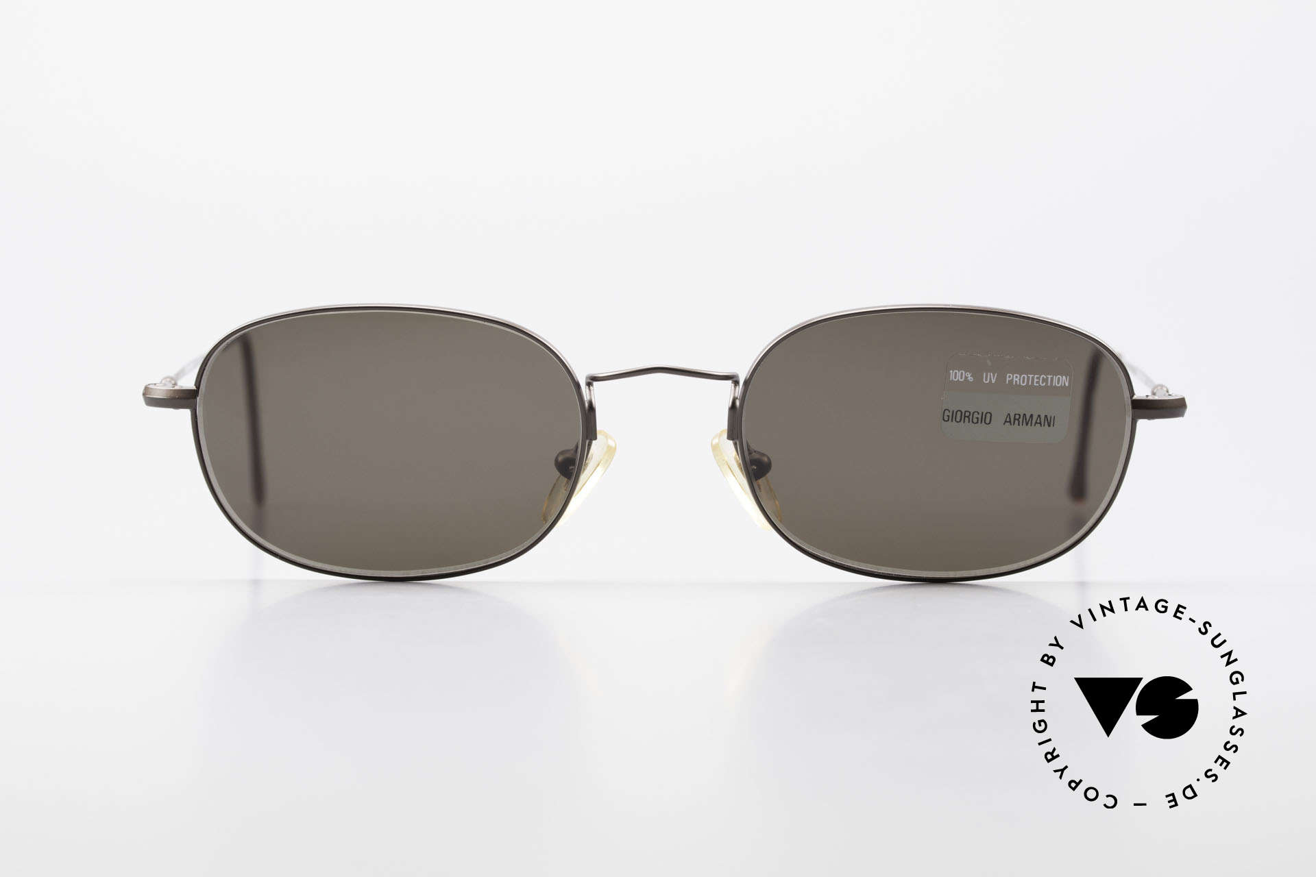 Giorgio Armani 234 Classic Designer Shades 80's, discreet metal frame in tangible premium-quality, Made for Men and Women