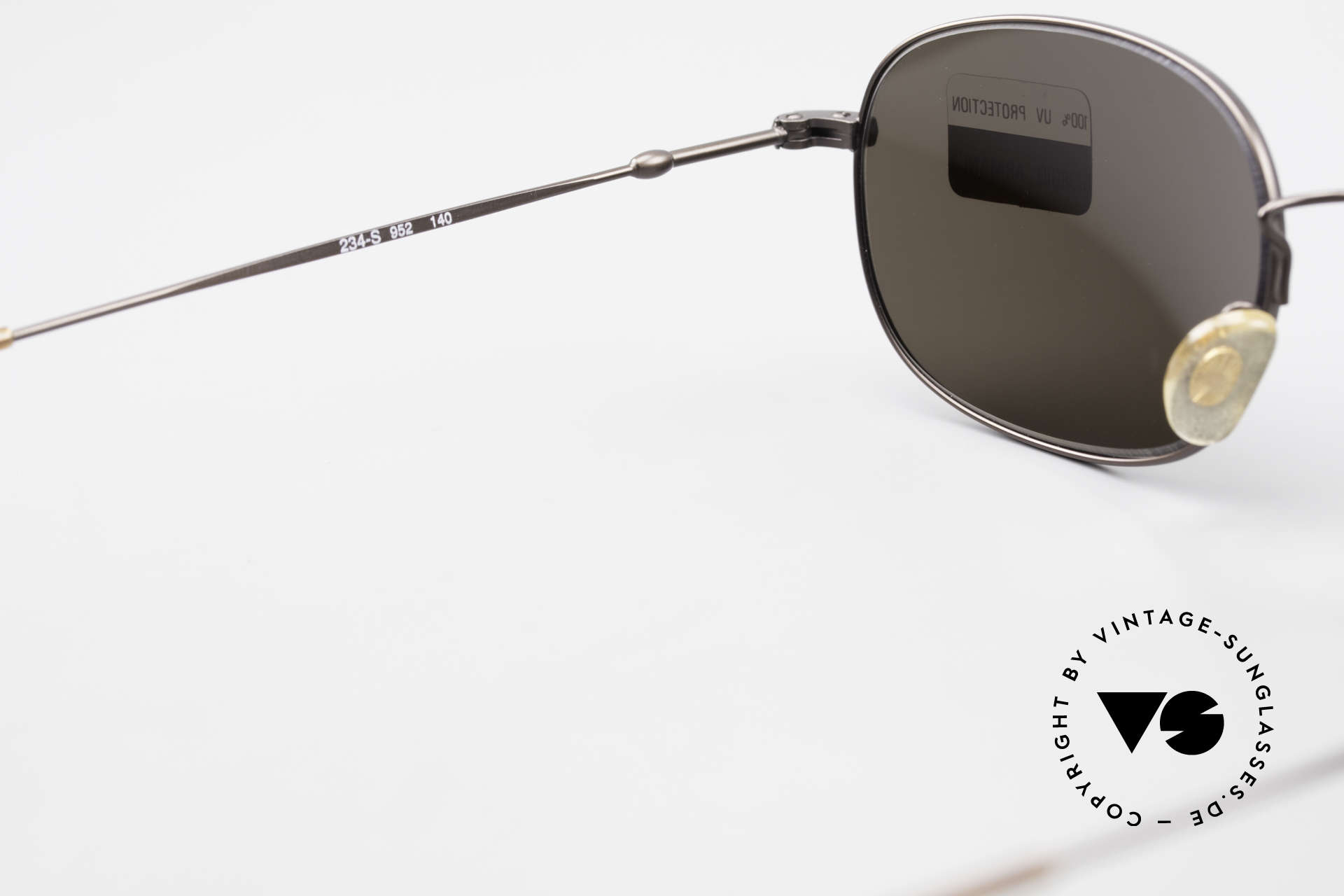 Giorgio Armani 234 Classic Designer Shades 80's, sun lenses (100% UV) can be replaced optionally, Made for Men and Women