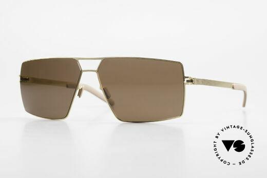 Mykita Viktor Square Designer Sunglasses Details