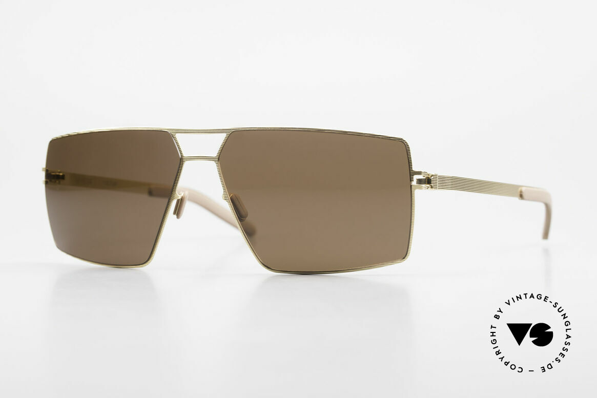 Mykita Viktor Square Designer Sunglasses, original VINTAGE MYKITA men's sunglasses from 2006, Made for Men