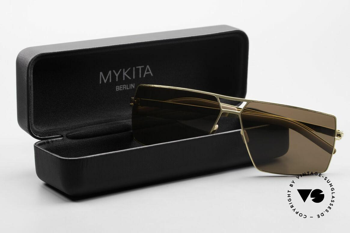 Mykita Viktor Square Designer Sunglasses, Size: large, Made for Men