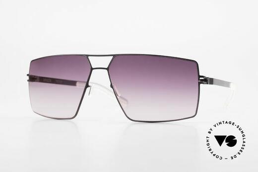 Mykita Viktor Designer Sunglasses Square Details