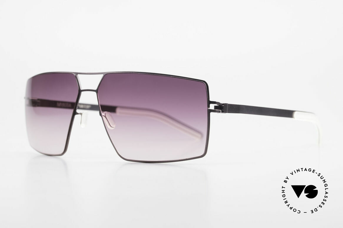 Mykita Viktor Designer Sunglasses Square, VIKTOR Purple, purple-gradient lenses, MEDIUM size, Made for Men