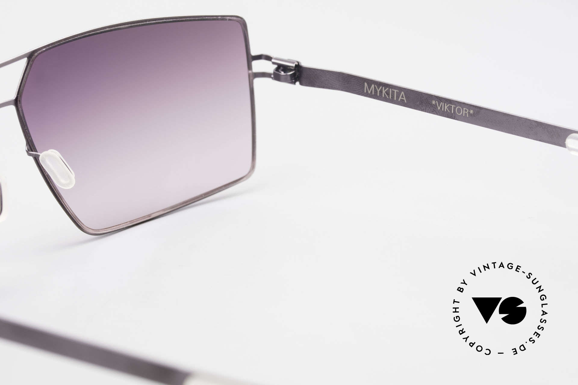 Mykita Viktor Designer Sunglasses Square, thus, now available from us (unworn and with orig. case), Made for Men