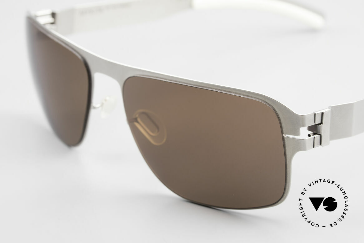 Mykita Lennox Sporty Designer Sunglasses, innovative and flexible metal frame = One size fits all!, Made for Men