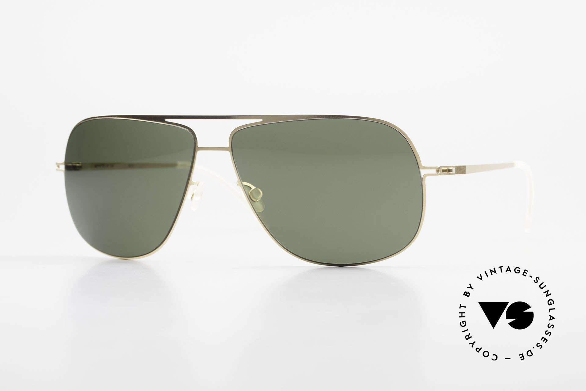 Mykita Jon Designer Lite Metal Sunglasses, VINTAGE unisex Mykita designer sunglasses from 2010, Made for Men and Women