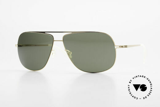 Mykita Jon Designer Lite Metal Sunglasses Details