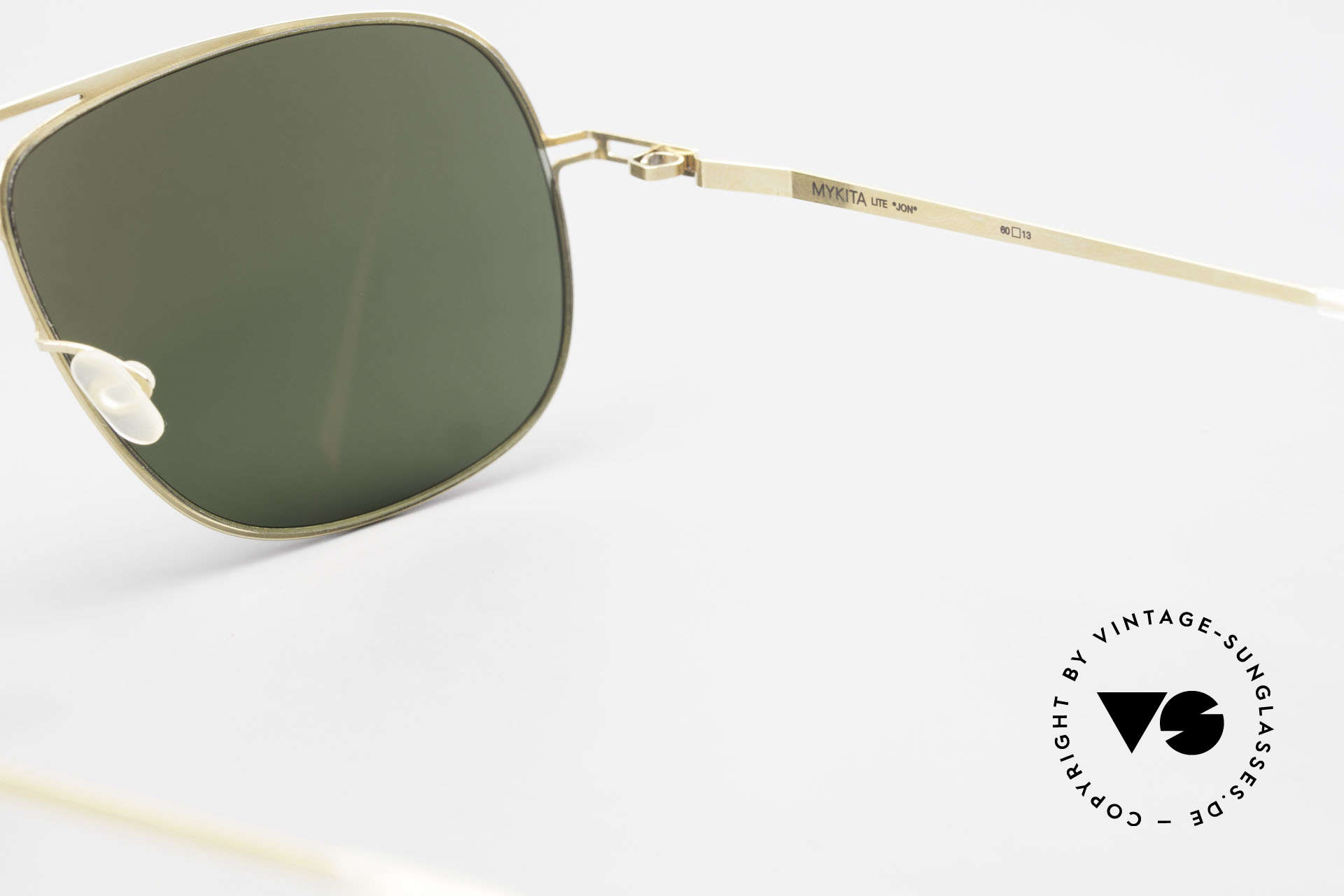 Mykita Jon Designer Lite Metal Sunglasses, Mod. Jon = similar to Mod. Rolf (worn by Jolie & Pitt), Made for Men and Women
