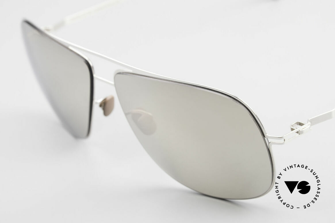 Mykita Jon Limited Platinum Edition 2011, innovative and flexible metal frame = One size fits all!, Made for Men and Women