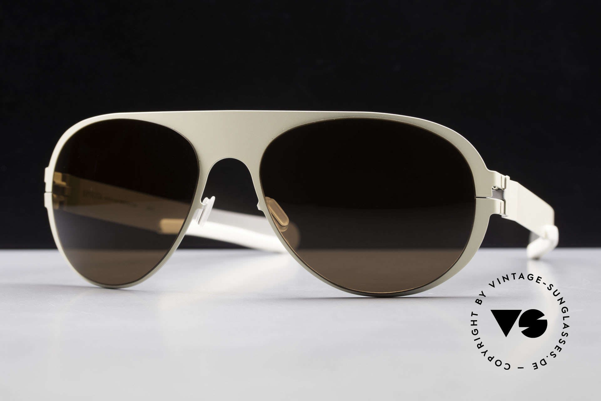 Mykita Winston Limited Designer Sunglasses, innovative and flexible metal frame = One size fits all!, Made for Men