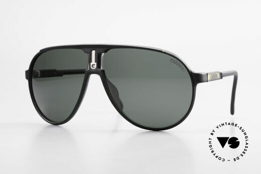 Carrera 5407 80's Sports Pilot's Sunglasses Details