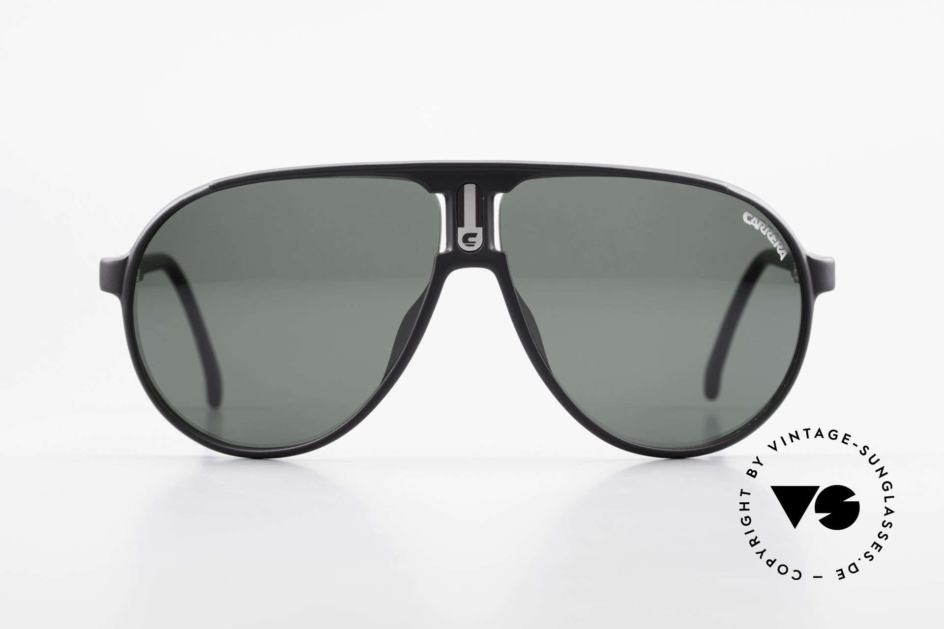 Carrera 5407 80's Sports Pilot's Sunglasses, orig. 80's catalog name: Carrera 5407 CHAMPION, Made for Men