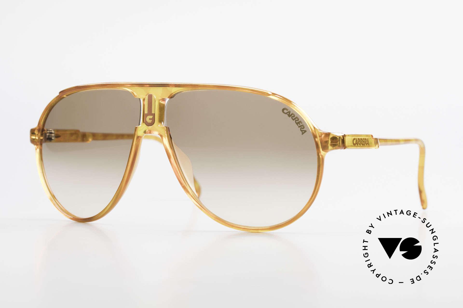 Carrera 5407 80's Sports Aviator Sunglasses, old 1980's sports aviator sunglasses by CARRERA, Made for Men