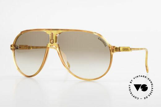 Carrera 5407 80's Sports Aviator Sunglasses Details