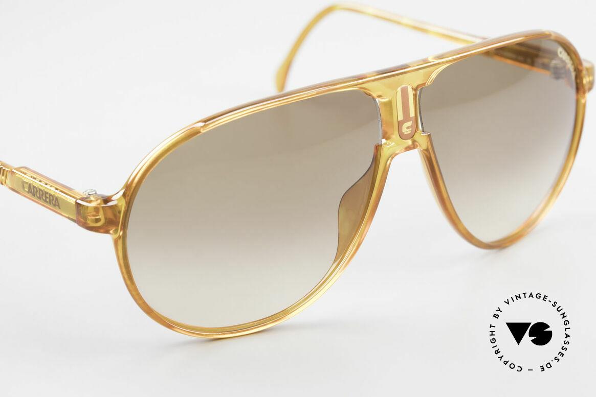 Carrera 5407 80's Sports Aviator Sunglasses, brown-gradient sun lenses for 100% UV protection, Made for Men