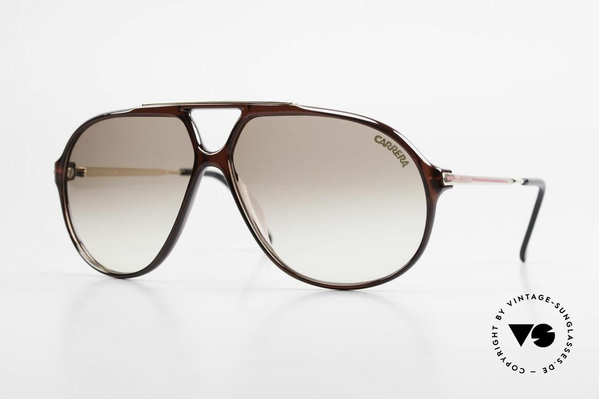 Carrera 5405 Old 90's Aviator Sunglasses, original vintage Carrera 5405 sunglasses from 1989, Made for Men