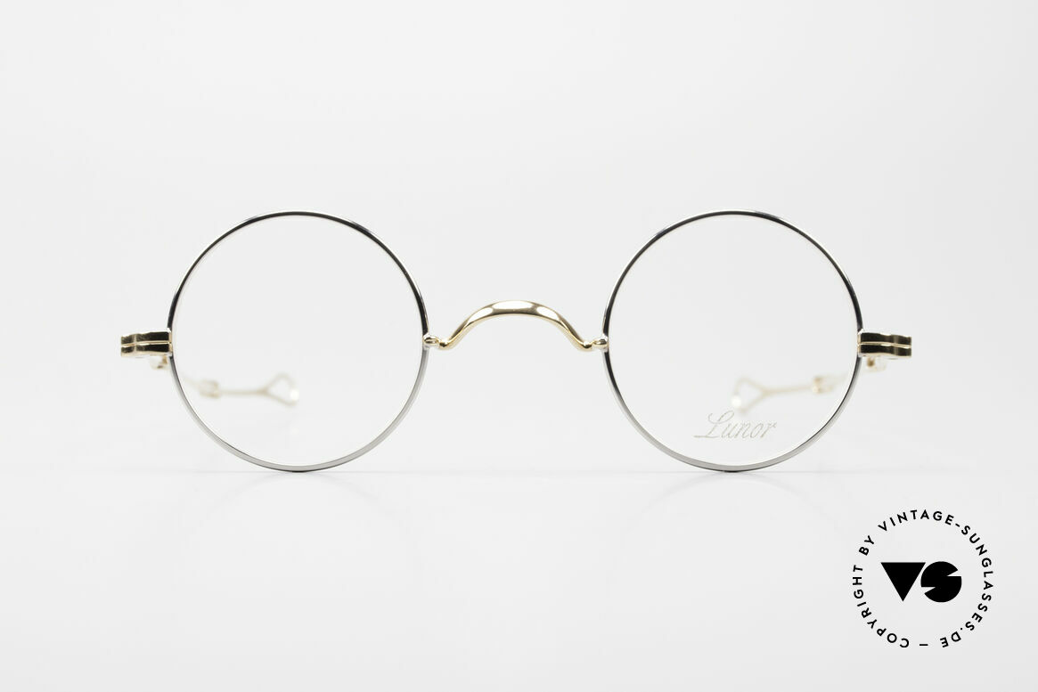 Lunor I 12 Telescopic Slide Temples Telescopic Specs, traditional German brand; quality handmade in Germany, Made for Men and Women