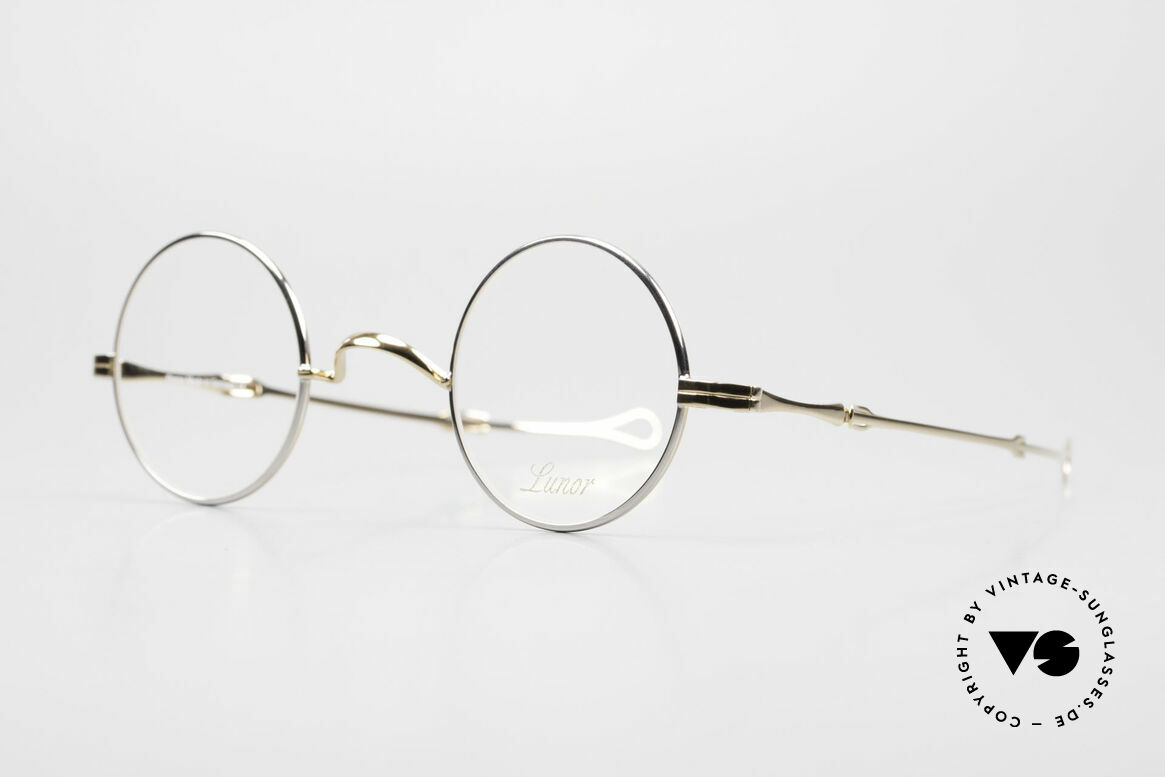 """Lunor I 12 Telescopic Slide Temples Telescopic Specs, well-known for the """"W-bridge"""" & the plain frame designs, Made for Men and Women"""