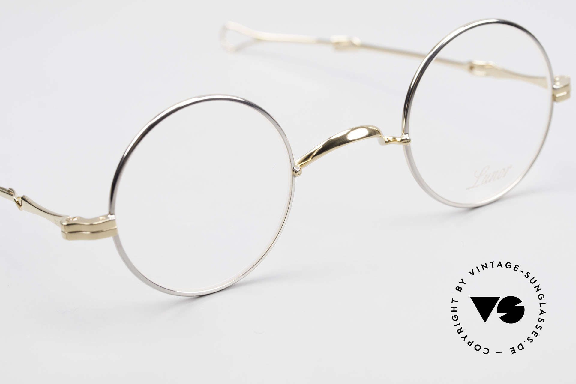 Lunor I 12 Telescopic Slide Temples Telescopic Specs, unworn RARITY (for all lovers of quality) from app. 1999, Made for Men and Women