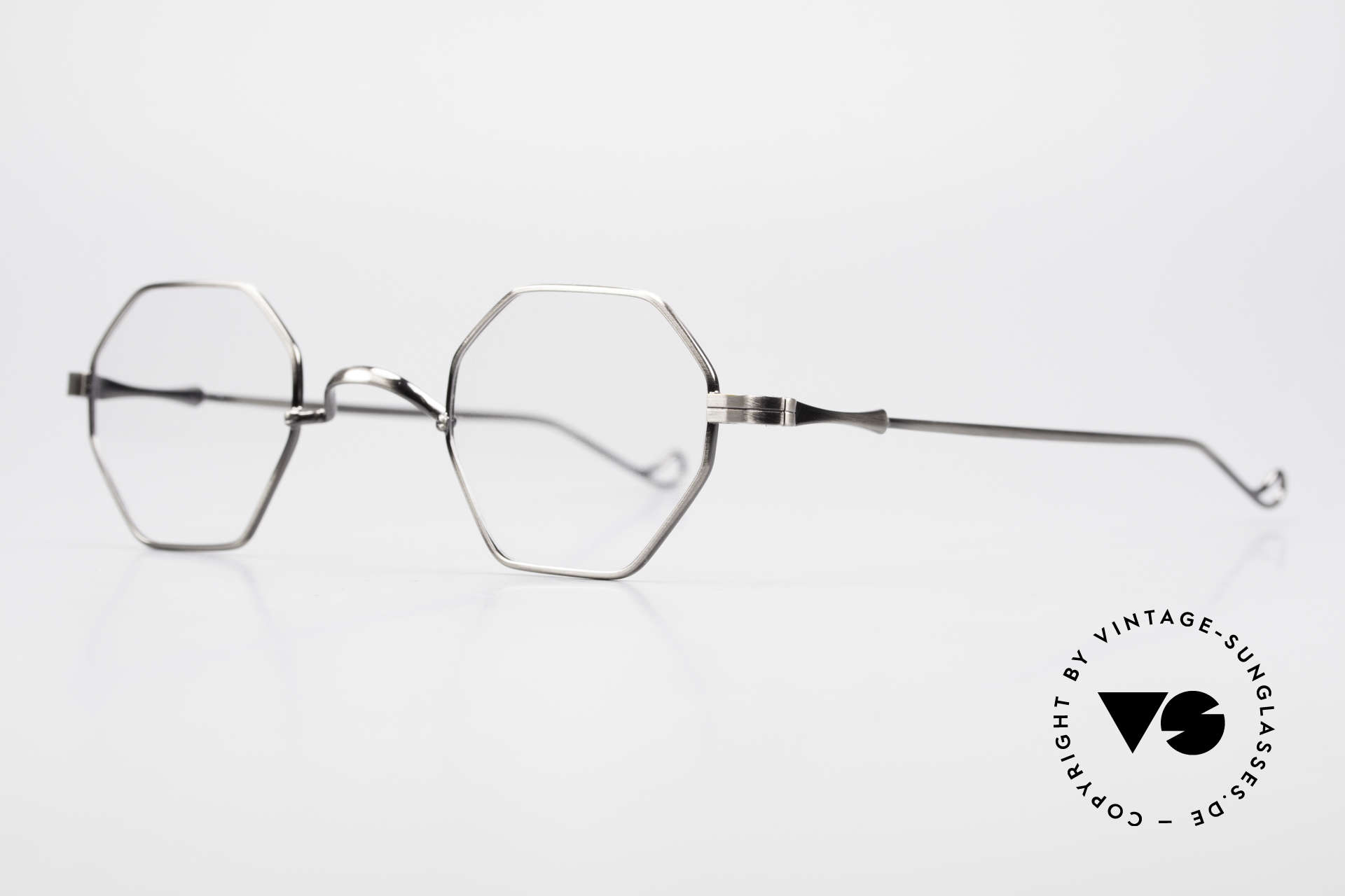 "Lunor II 11 Square Panto Frame XS Small, well-known for the ""W-bridge"" & the plain frame designs, Made for Men and Women"