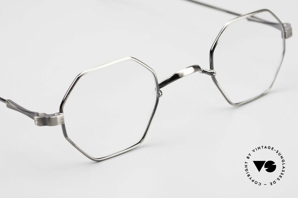 Lunor II 11 Square Panto Frame XS Small, NO RETRO EYEGLASSES; but a luxury vintage Original, Made for Men and Women