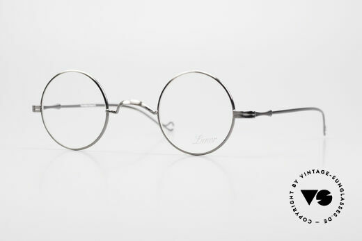 Lunor II 12 Small Round Luxury Glasses Details