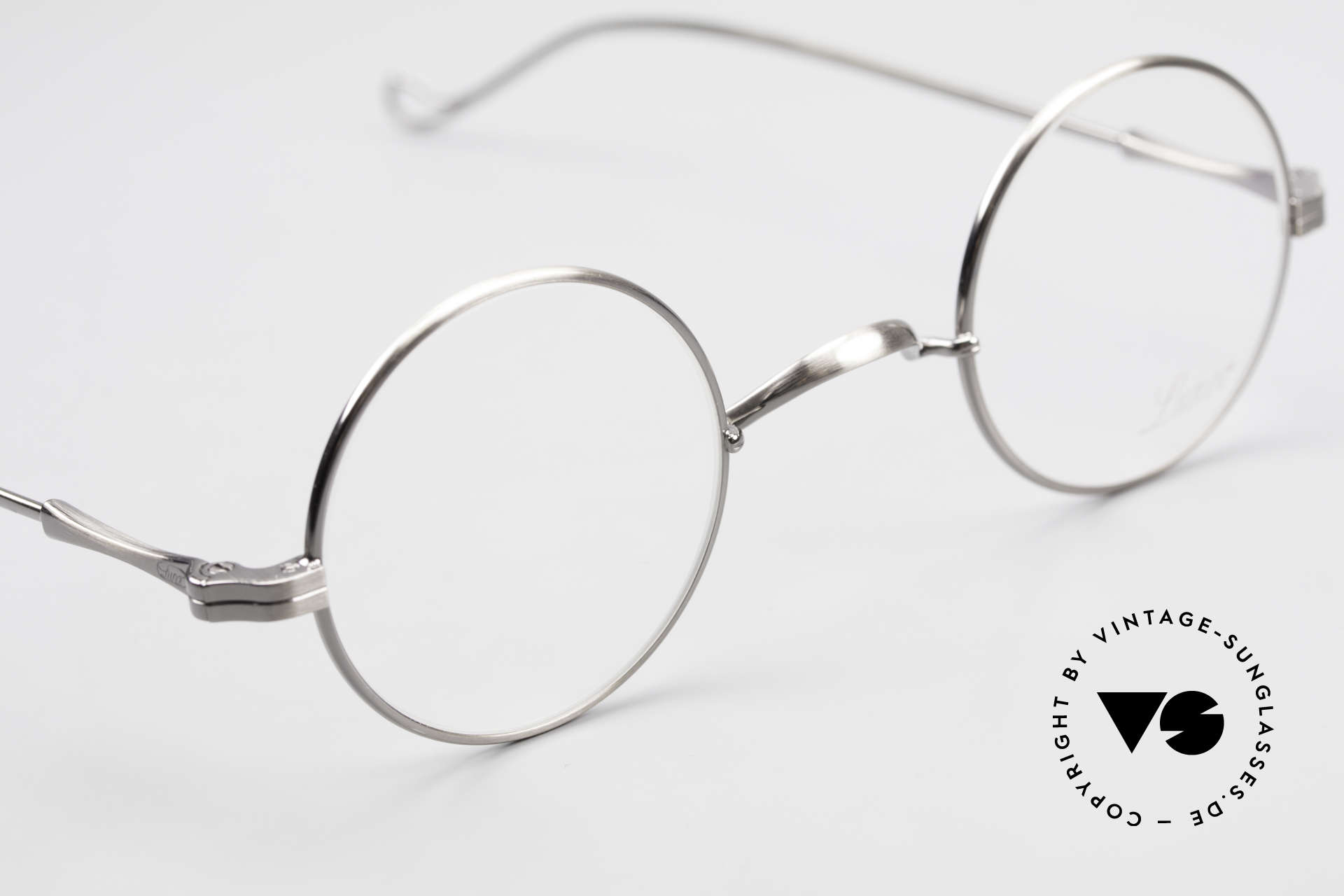 Lunor II 12 Small Round Luxury Glasses, NO RETRO EYEGLASSES; but a luxury vintage Original, Made for Men and Women