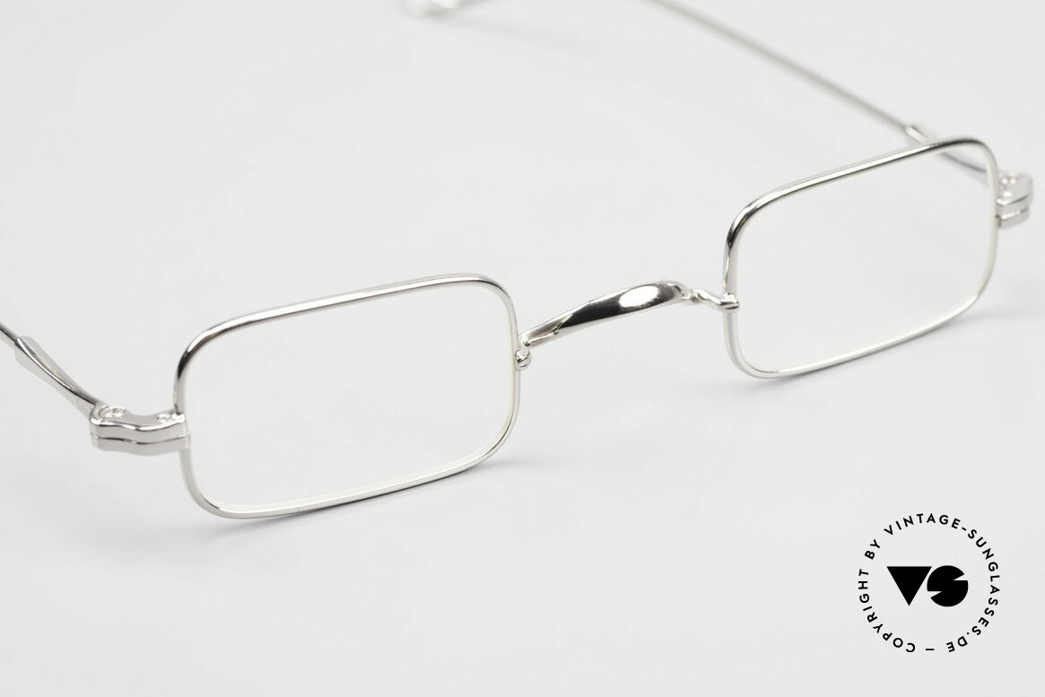 Lunor II 13 Square Luxury Glasses Small, NO RETRO EYEGLASSES; but a luxury vintage Original, Made for Men and Women