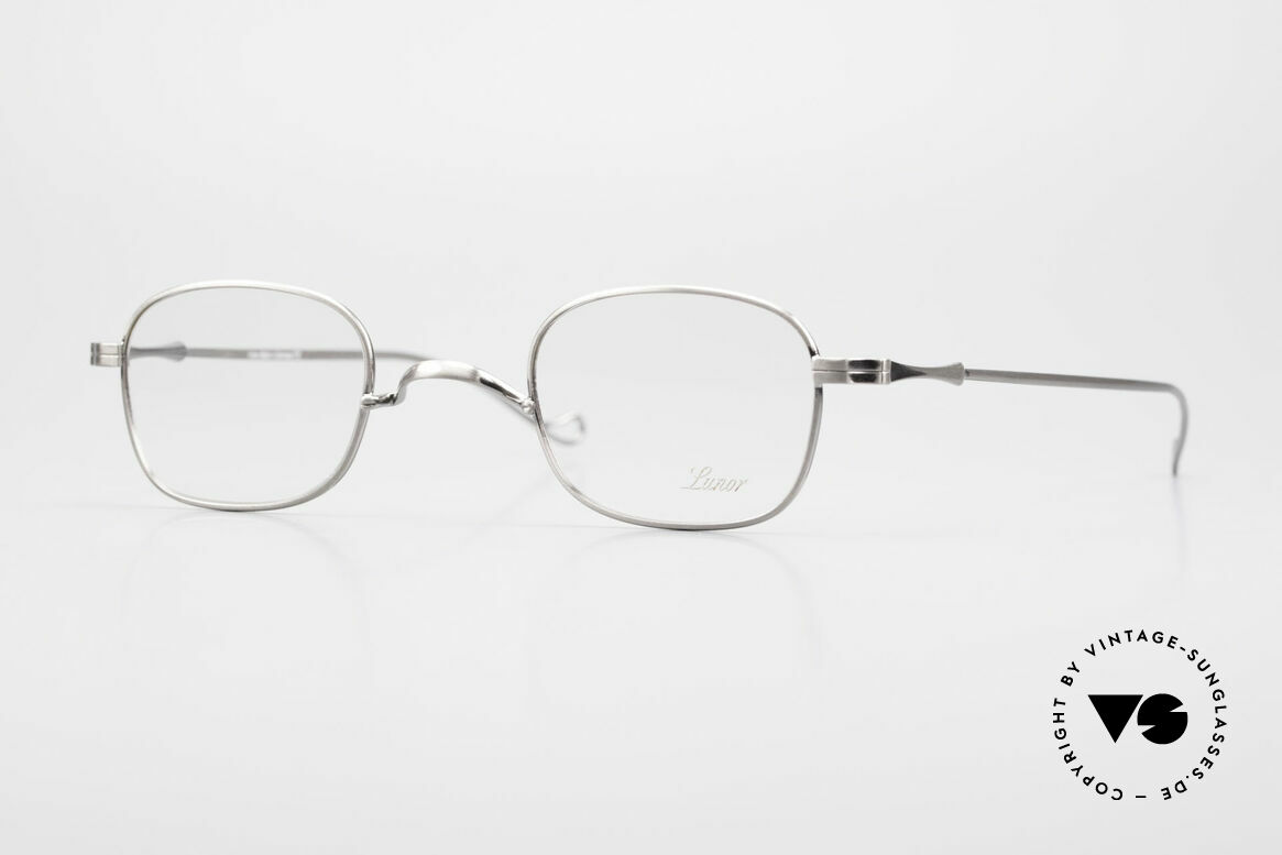 """Lunor II 05 Classic Timeless Eyeglasses, Lunor: shortcut for French """"Lunette d'Or"""" (gold glasses), Made for Men and Women"""