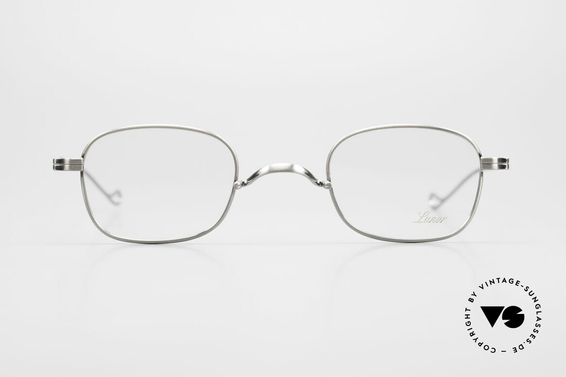 Lunor II 05 Classic Timeless Eyeglasses, traditional German brand; quality handmade in Germany, Made for Men and Women