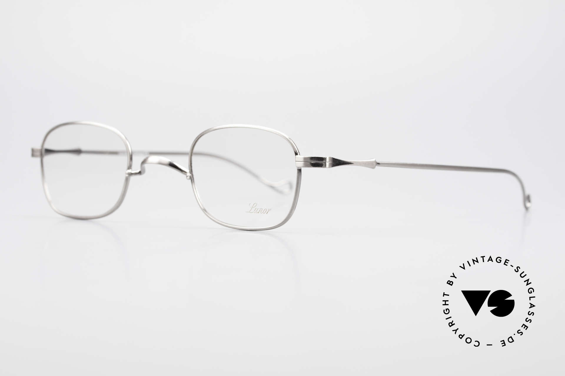 """Lunor II 05 Classic Timeless Eyeglasses, well-known for the """"W-bridge"""" & the plain frame designs, Made for Men and Women"""