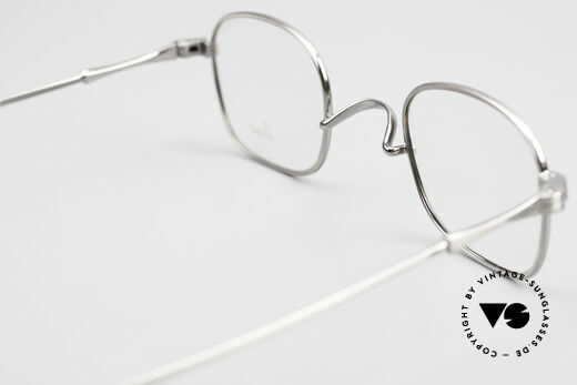 Lunor II 05 Classic Timeless Eyeglasses, classic timeless frame design; ANTIQUE SILVER finish, Made for Men and Women