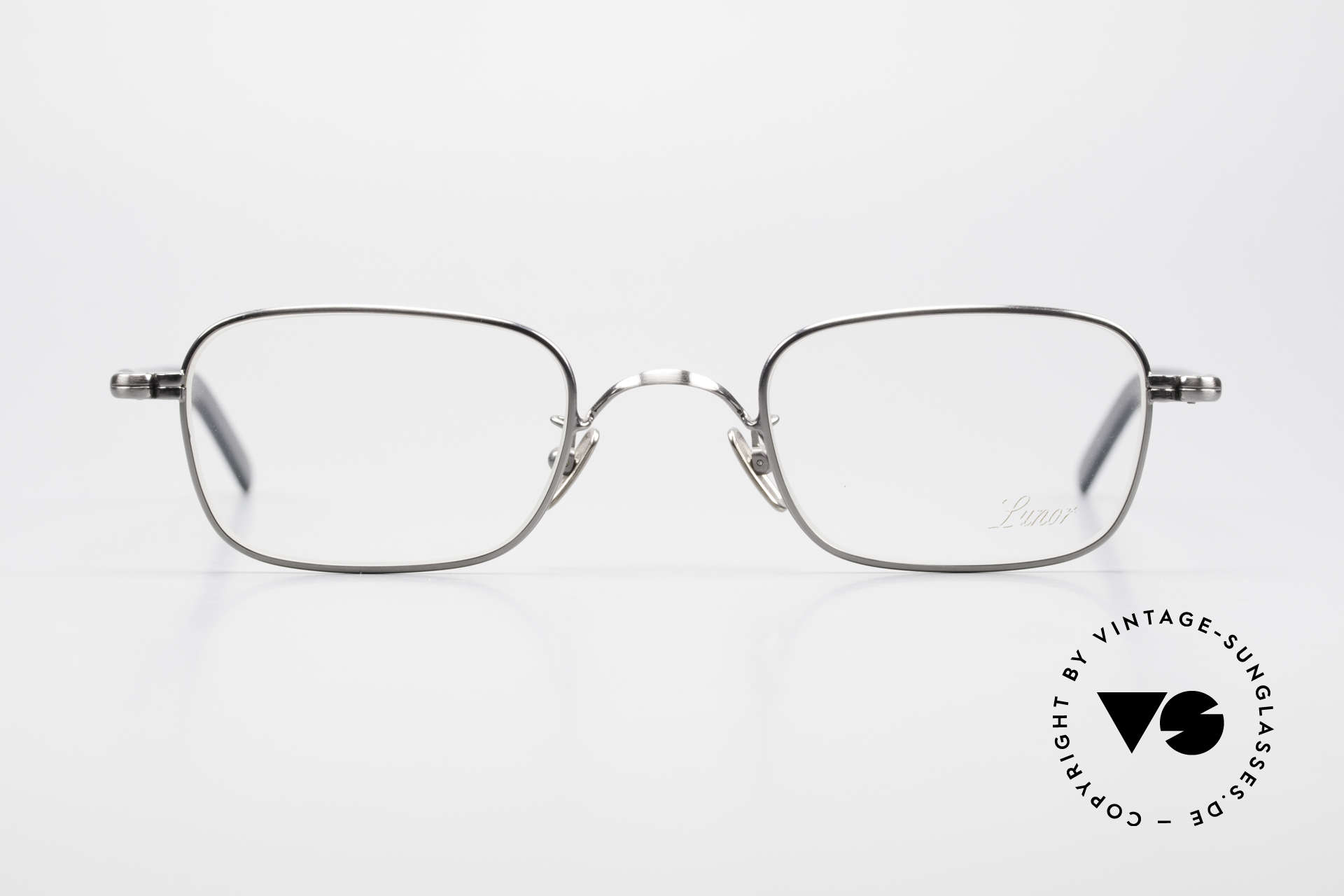 Lunor VA 109 Classic Gentlemen's Glasses, without ostentatious logos (but in a timeless elegance), Made for Men