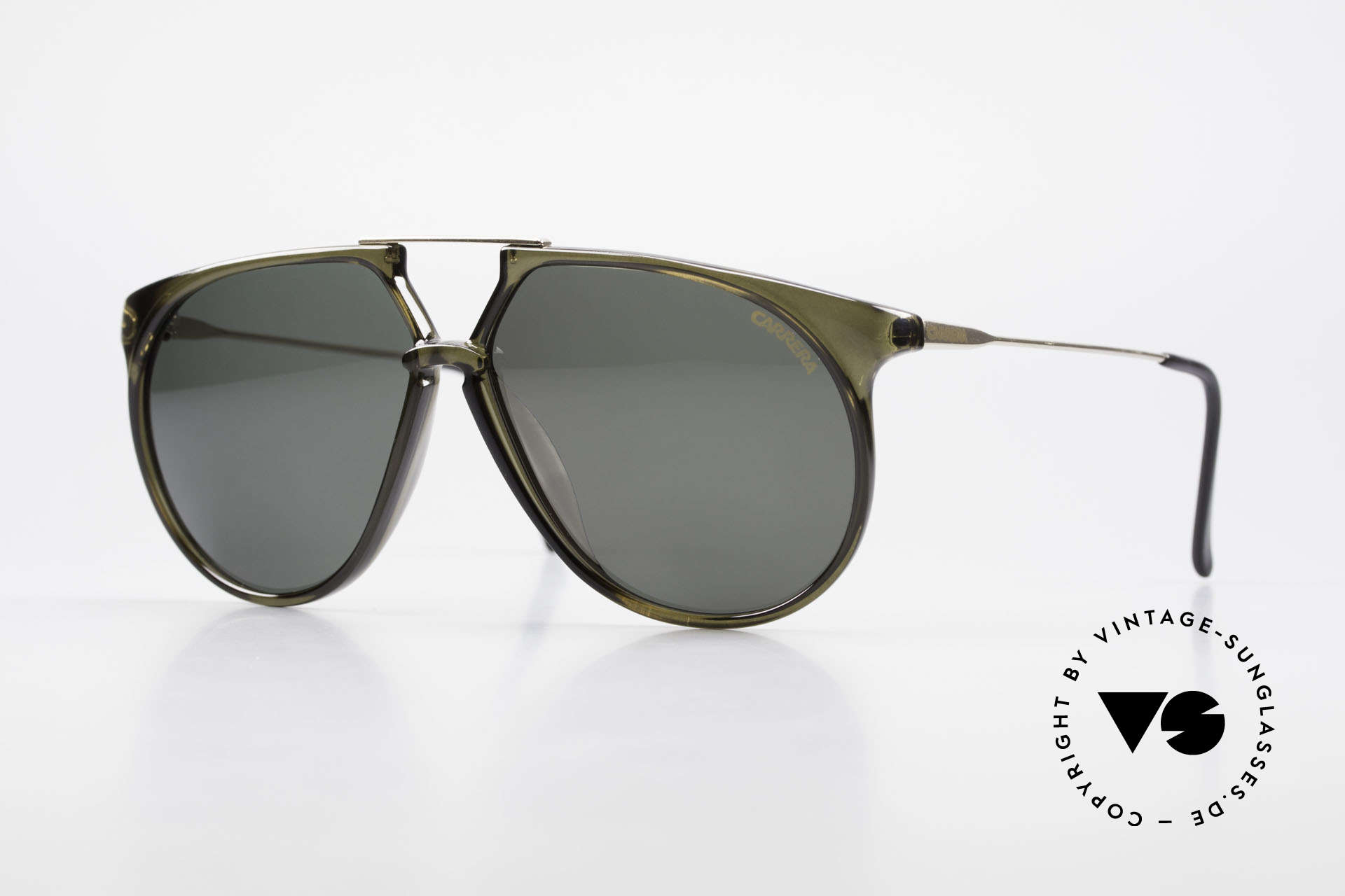 Carrera 5415 XL 80's Shades 2 Sets Of Lenses, vintage Carrera designer sunglasses from the 1980's, Made for Men