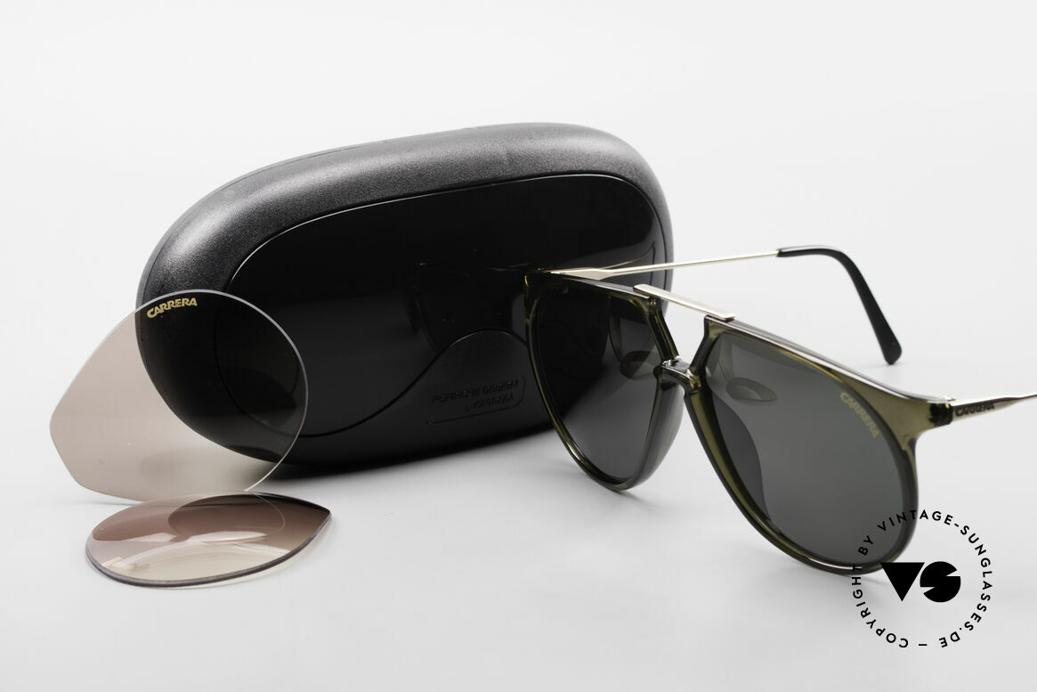 Carrera 5415 XL 80's Shades 2 Sets Of Lenses, Size: large, Made for Men