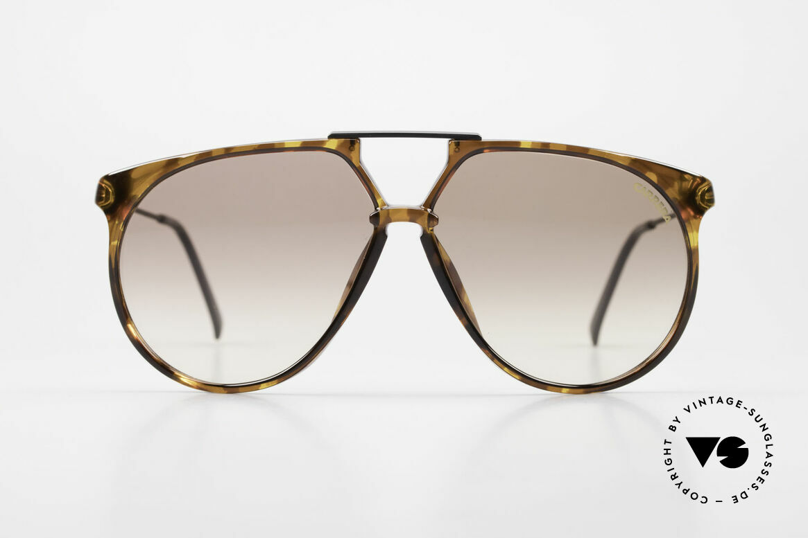 Carrera 5415 Old 80's Shades 2 Sets Of Lenses, everlasting OPTYL-frame (shines like just produced), Made for Men