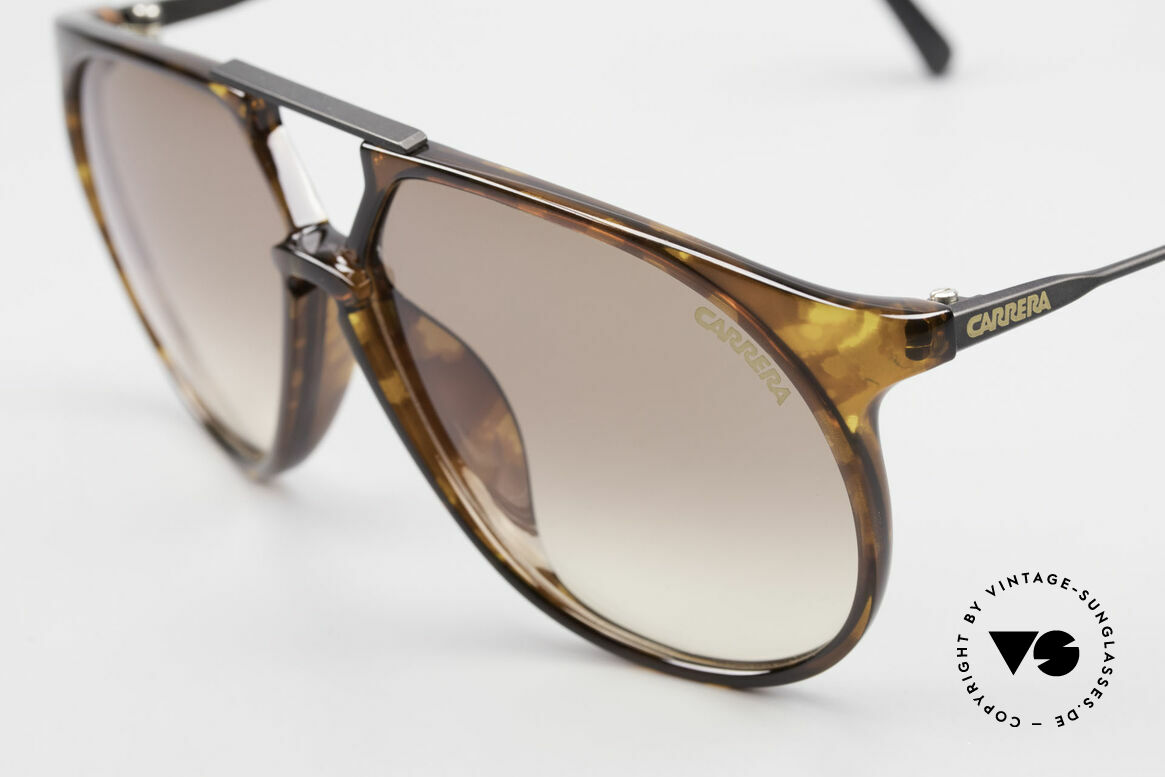 Carrera 5415 Old 80's Shades 2 Sets Of Lenses, 2 sets of lenses: 1x gray; 1x brown-gradient (100% UV), Made for Men