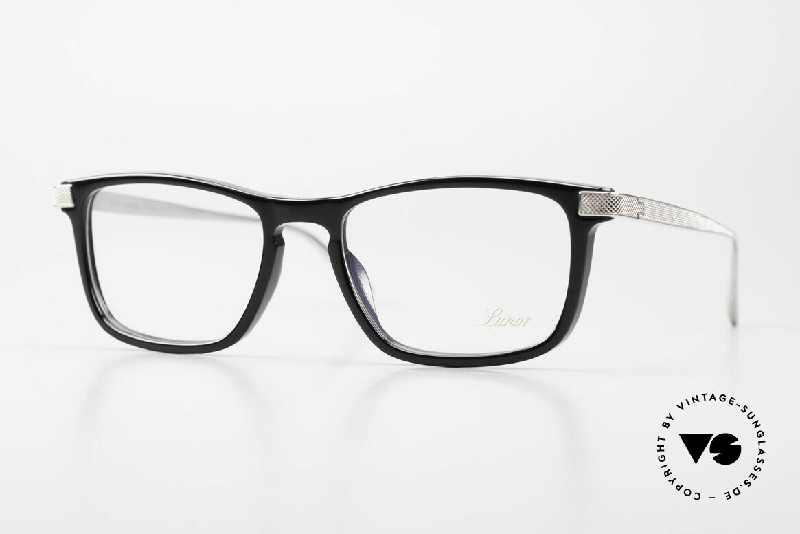Lunor Imperial Anatomic Vintage Titanium Frame 2012, Lunor Imperial Anatomic PP (Platinum Plated) glasses, Made for Men and Women