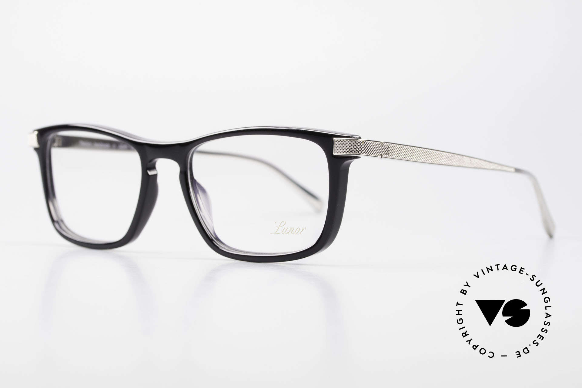 """Lunor Imperial Anatomic Vintage Titanium Frame 2012, Lunor: shortcut for French """"Lunette d'Or"""" (gold glasses), Made for Men and Women"""
