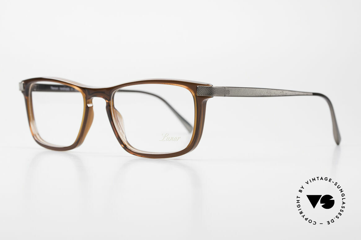"""Lunor Imperial Anatomic Titanium Frame 2012 Unisex, Lunor: shortcut for French """"Lunette d'Or"""" (gold glasses), Made for Men and Women"""