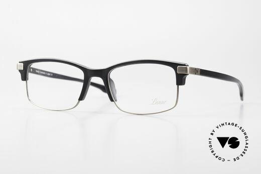 Lunor Combi V Mod 50 Designer Combi Glasses Titan Details